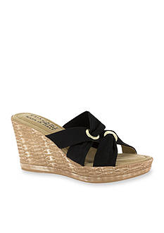 TUSCANY by easy street Solaro Wedge Sandals