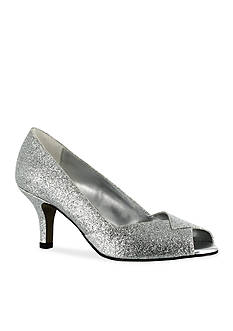 Easy Street Ravish Peep Toe Evening Shoe
