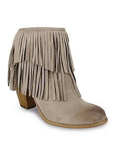 not rated Auriga Fringe Chain Booties