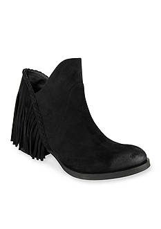 not rated Braxton Back Fringe Booties