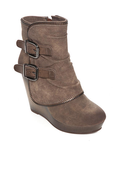 not rated Gemini Wedge Bootie