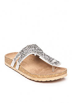 not rated Bushey Posted Footbed Sandal