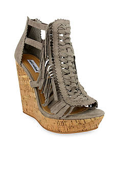 not rated Honey Buns Fringe Wedge Sandal