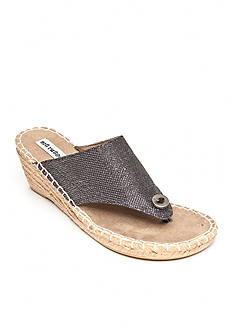 not rated Fonda Hooded Espadrille Wedge Slide