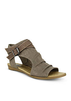 not rated Avana Canvas Covered Open Toe Sandal