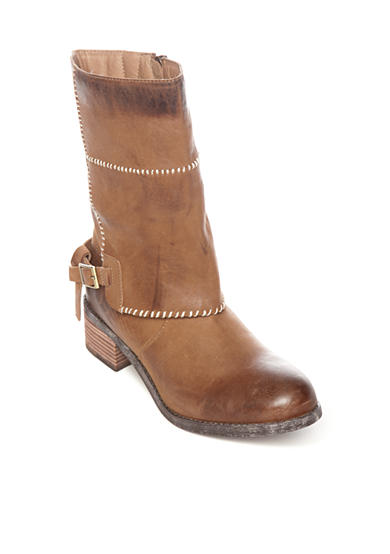 Antelope Whip Stitch Mid Shaft Boot