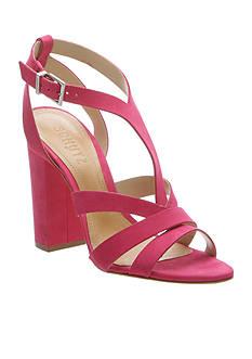Schutz Veggy Tall Block Heel Sandal