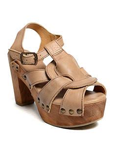 Bed Stu Caitlin Wooden Heel Sandal