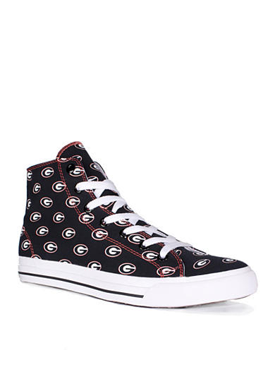 Row One Brands® Unisex University of Georgia High Top Shoes