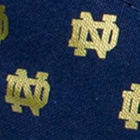 College Shoes Men: Navy Blue Row One Brands Unisex University of Notre Dame Low Top