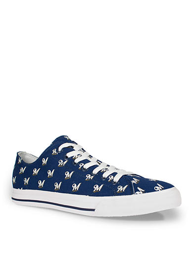 Row One Brands® Unisex MLB Milwaukee Brewers Low Top Shoe