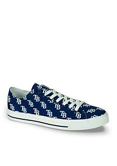 Row One Brands Unisex MLB Tampa Bay Rays Low Top Shoe
