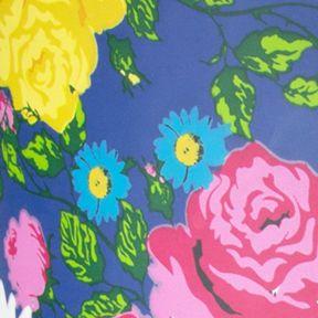 Pink Shoes for Women: Cobalt Floral London Fog Talley Rainboot