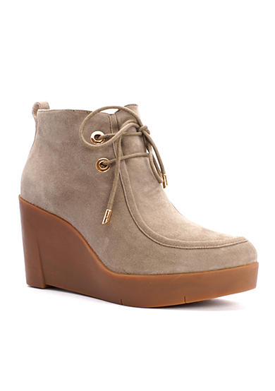 Sudini Darlene Wide Wedge Bootie