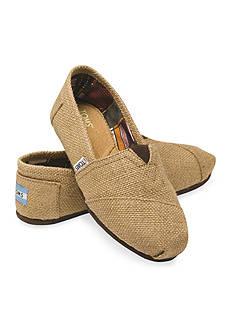 TOMS Seasonal Classic Burlap Shoes