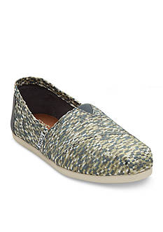 TOMS Silver Giltz Slip On Shoes