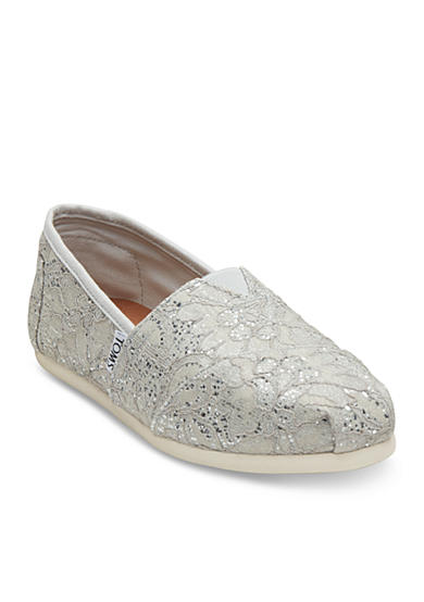 TOMS® Lace Slip On Flats