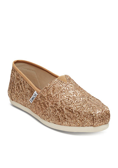 TOMS® Classic Slip On Lace Flats