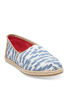 TOMS Classic Slip On Tribal Flats