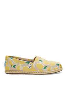 TOMS Lemon Seasonal Classic Shoe