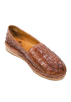 Patricia Nash Padma Woven Leather Slip On Shoes