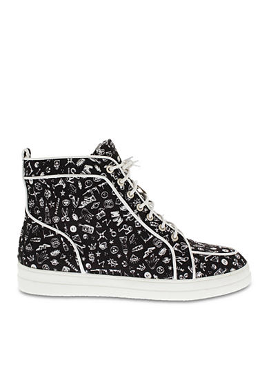 Nicole Miller Garbo High Top Sneaker