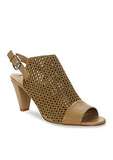 Tahari Elsa Perforated Slingback Heels