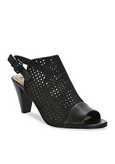 Tahari Elsa Perforated Mules