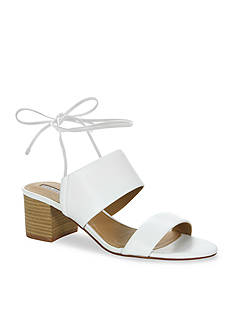 Tahari Doe Tie Back Mid Heel Sandals