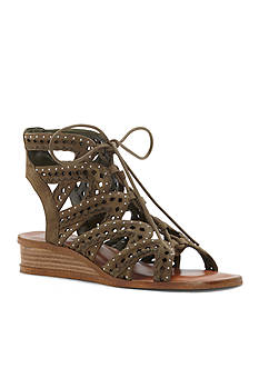 1. State Maygan Lace Up Low Wedge Sandals