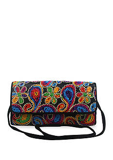 J Reneé Soutache Convertible Clutch Bag