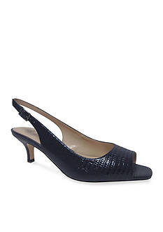 J Reneé Classie Peep-Toe Pump - Available in Extended Sizes