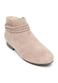 New Directions Tillie Braided Flat Booties