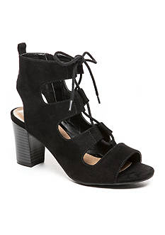 New Directions Hailey Ghillie Lace Up Sandals