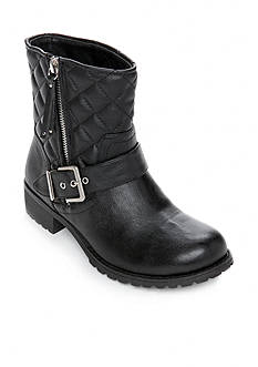New Directions® Randd Quilted Lug Moto Boot