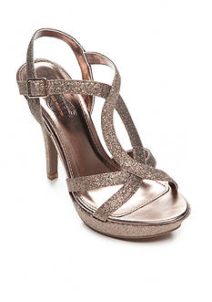 UNLISTED Sweet Not Hour Platform Glitter Sandal