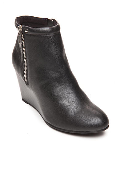 UNLISTED Bold Type  Wedge Bootie