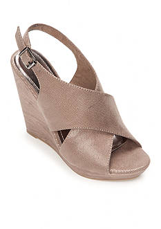 UNLISTED My First Criss Cross Wedge Sandal