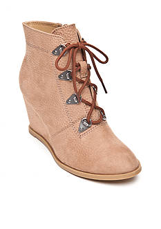 UNLISTED Simply Bold Wedge Bootie