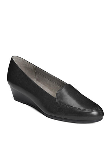 AEROSOLES® Lovely Tailored Wedge Loafer