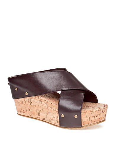Rampage Quizzer Wedge Sandal