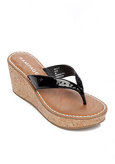 Rampage Daley Cork Wedge Sandal