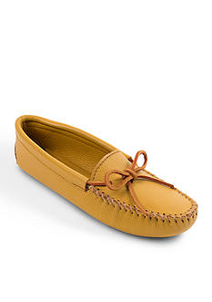 Minnetonka Double Deerskin Soft-Sole Moccasins