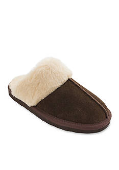 Minnetonka Chesney Fur Slipper
