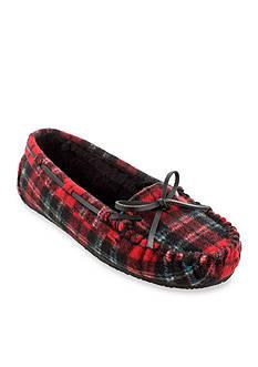 Minnetonka Plaid Cally Shoes