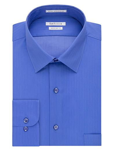 Van heusen regular fit wrinkle free dress shirt for Van heusen men s regular fit pincord dress shirt