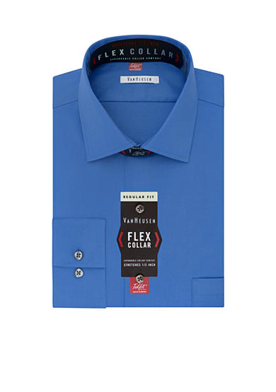 Van Heusen Regular-Fit Flex Collar Dress Shirt