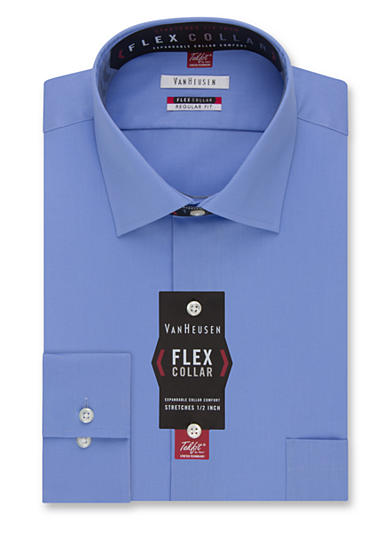Van heusen wrinkle free flex collar dress shirt belk for Van heusen shirts flex collar