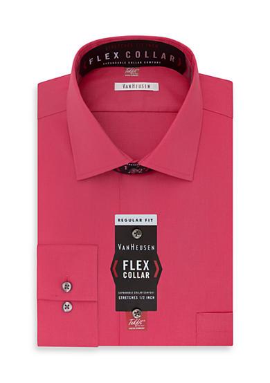 Van Heusen Wrinkle Free Flex Collar Dress Shirt Belk