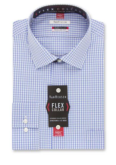 Van Heusen Wrinkle Free Regular Fit Flex Collar Dress